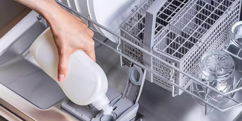 طریقه مصرف جلا دهنده ماشین ظرفشویی