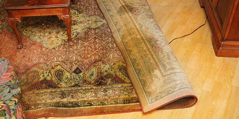 شستشوی فرش دستبافت در خانه