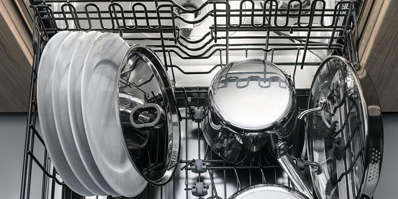 چیدمان ظروف در ماشین ظرفشویی