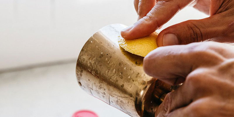 استفاده از لیمو و جوش شیرین