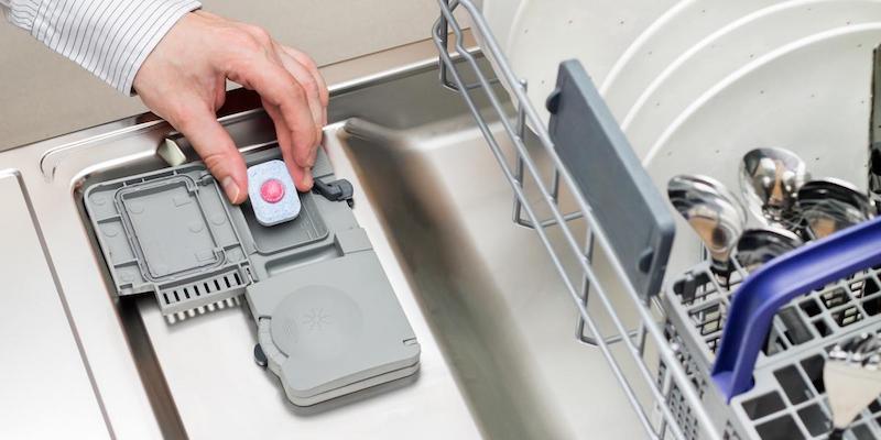 طریقه مصرف قرص ماشین ظرفشویی
