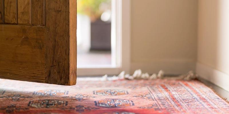 روش خشک کردن فرش دستبافت در خانه