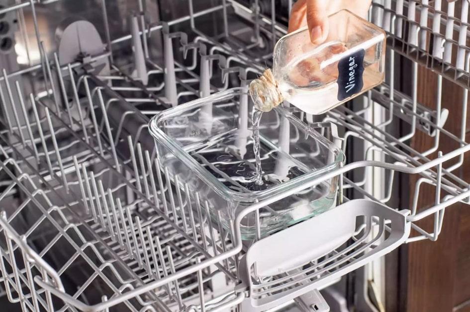 نحوه ی تمیز کردن ماشین ظرفشویی