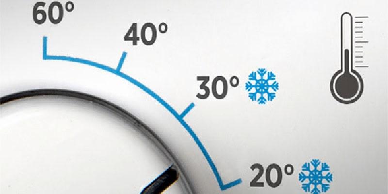 دمای پایین آب