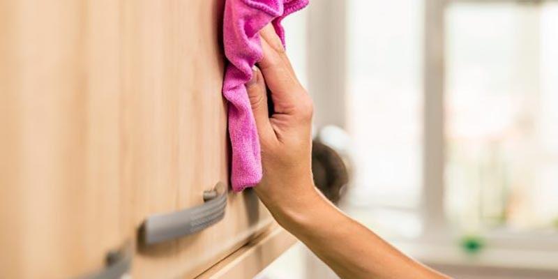 روشهای تمیزکردن کابینتامدیاف