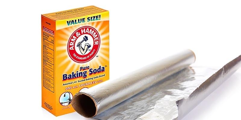 تمیز کردن ظروف نقره به روش شیمیایی