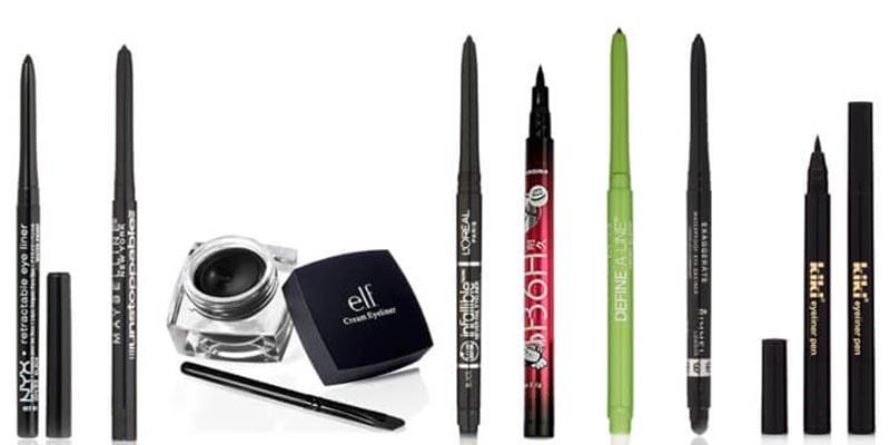 تمیز کردن لوازم آرایش مایع؛ برقلب، خط چشم و ریمل