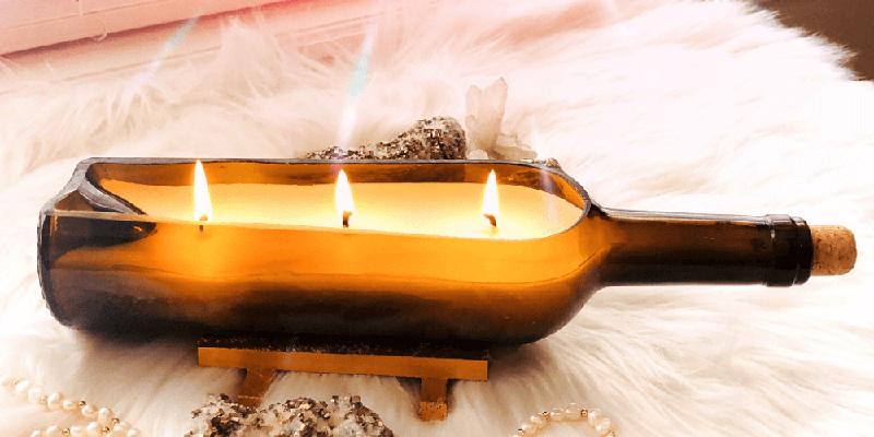 سرد کردن موم شمع