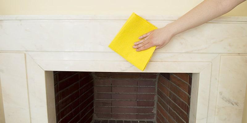 اقدامات احتیاطی هنگام تمیز کردن شومینه