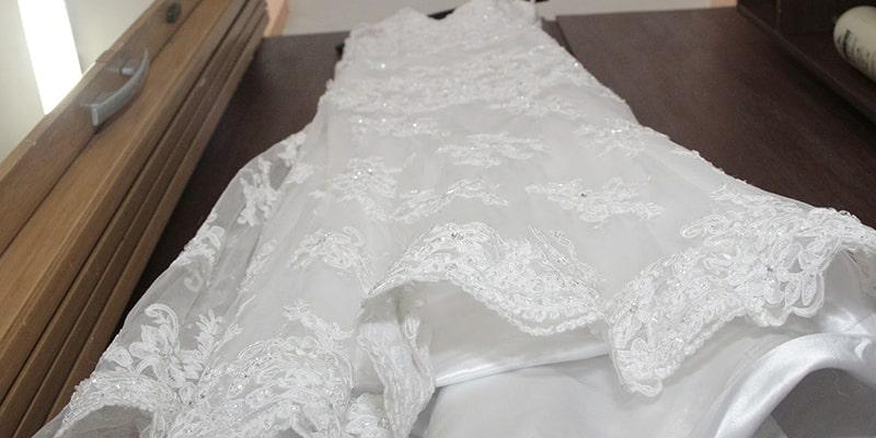 نکات مهم در مورد شستشوی لباس عروس