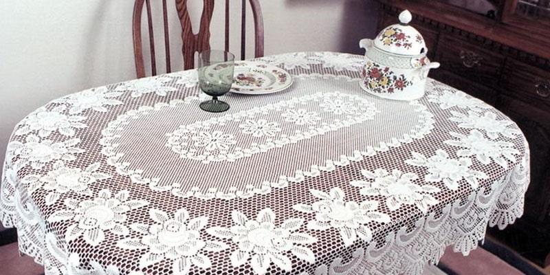 روش شستن رومیزی قالب بافی