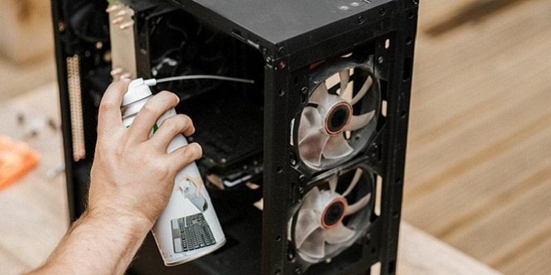 چگونه کیس کامپیوتر را تمیز کنیم؟
