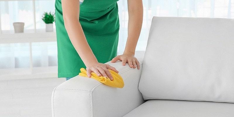 چگونه مبل چرم را تمیز کنیم؟